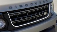 Unikátní maska chladiče, Land Rover Discovery Graphite.