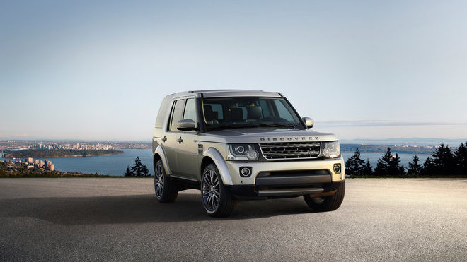 Land Rover Discovery Graphite.