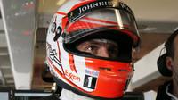 Jenson Button v Austinu