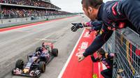 Max Verstappen si dojel pro 4.místo v cíli v Austinu