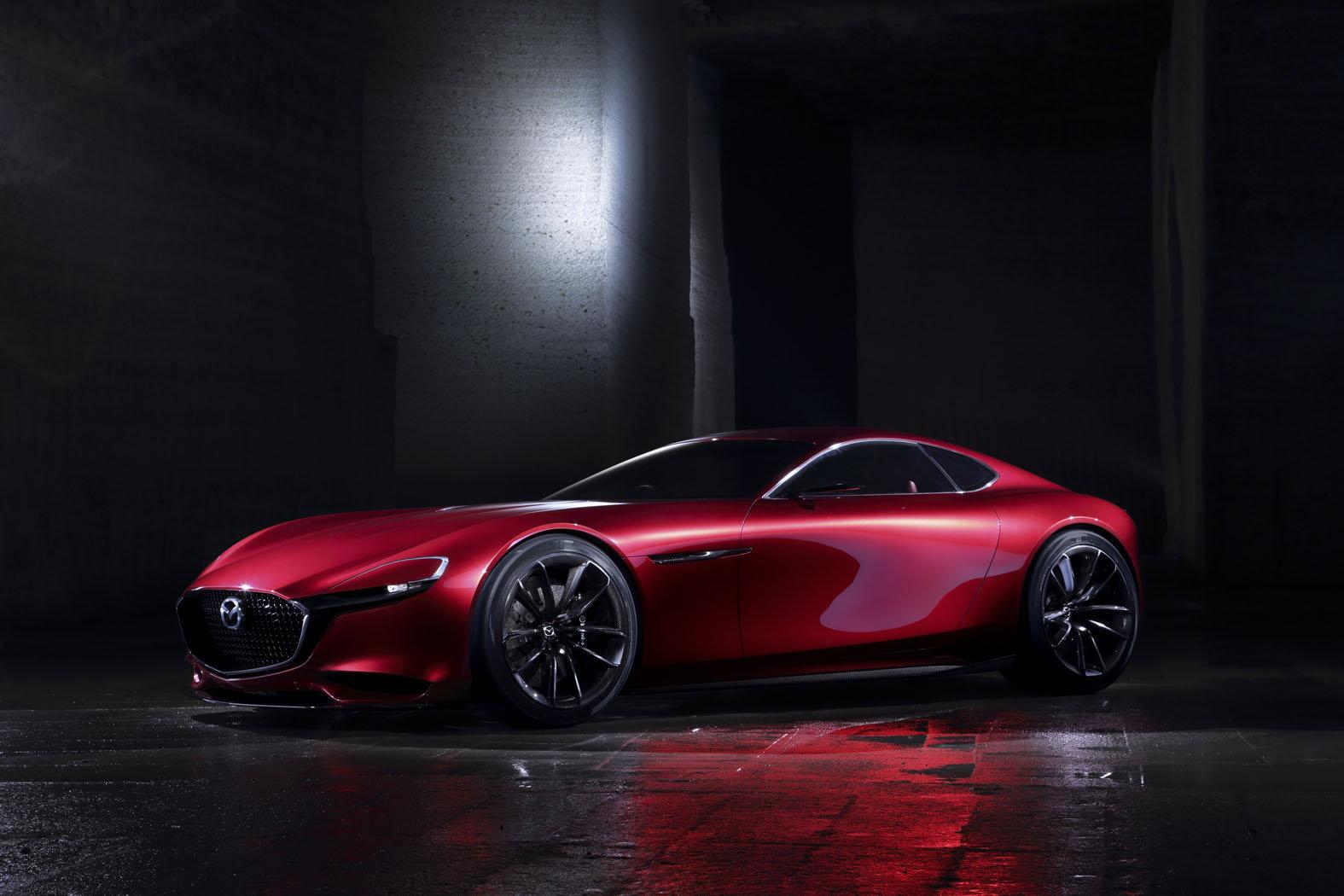 Takhle vypadá budoucí kupé RX-9, Mazda RX-Vision.