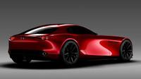 Zadní světla dávají vzpomenout na RX-7, Mazda RX-Vision.