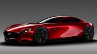 Kodo je nejvíce vidět v přední části, Mazda RX-Vision.