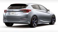Svalnaté boky poukazují na pohon všech kol, Subaru Impreza 5-Door Concept.