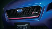 Maska chladiče s logem modelu, Subaru WRX STi S207.
