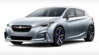Takto budou vypadat příští Subaru, Subaru Impreza 5-Door Concept.