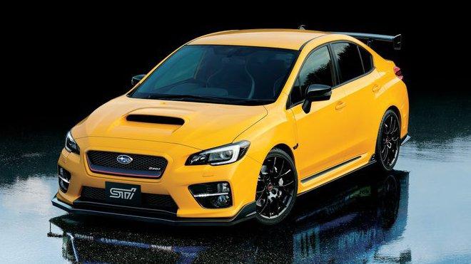 Žlutá Sunrise WRX STI S207 neskutečně sluší, Subaru WRX STi S207 NBR Challenge Yellow Edition.
