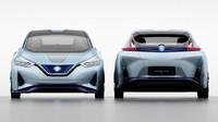 Budoucnost je v autonomním řízení a elektrickém pohonu. Alespoň si to myslí Nissan, ukazující na konceptu IDS možnou podobu druhé generace Leafu. Uvnitř čeká striktně čtyřmístné uspořádání natáčecích sedadel a hlavně hodně displejů na prakticky jakoukoliv funkci auta.