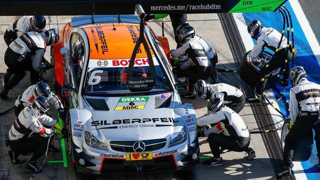 Mercedes letos nasadí do DTM jednoho nováčka