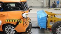 Fiat 500L v nárazovém testu
