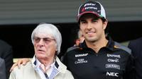 Bernie Ecclestone (se S. Pérezem) už na BBC spoléhat nemůže