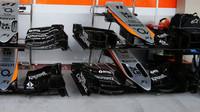 Přední křídla vozu Force India VJM08 - Mercedes v Mexiku