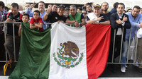 Fanoušci v Mexiku