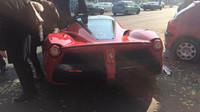 Nehoda Ferrari F150 Laferrari