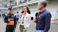 Davida Coultharda budeme vídat na Grand Prix i nadále, jen s jiným logem na mikrofonu