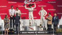 Tři nejlepší jezdci v Mexiku