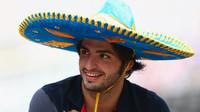 Carlos Sainz v Mexiku