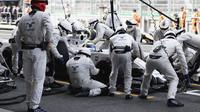 Felipe Massa v boxech v Mexiku