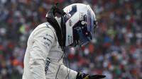 Valtteri Bottas děkuje za úspěšný závod v Mexiku