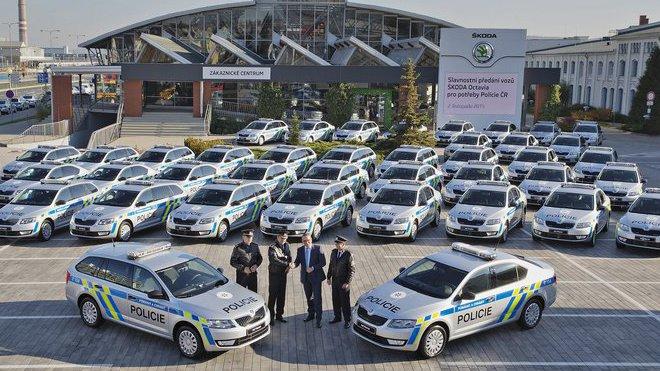 Škoda Auto předala nové policejní vozy pro českou Policii