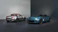 Obě nové MX-5 mají díly z karbonu a pod kapotou sériový dvoulitrový čtyřválec, Mazda MX-5 Spyder/Speedster.