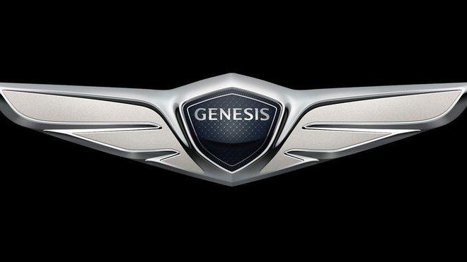 Nové logo vznikající automobilky Genesis
