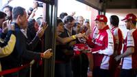 Kimi Räikkönen a Sebastian Vettel při Finali Mondiali