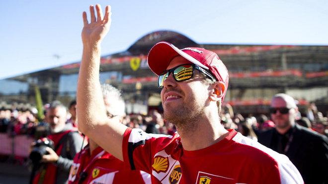 Sebastian Vettel byl na tiskové konferenci ve čtvrtek nejzpovídanější