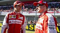 Esteban Gutiérrez a Kimi Räikkönen při Finali Mondiali