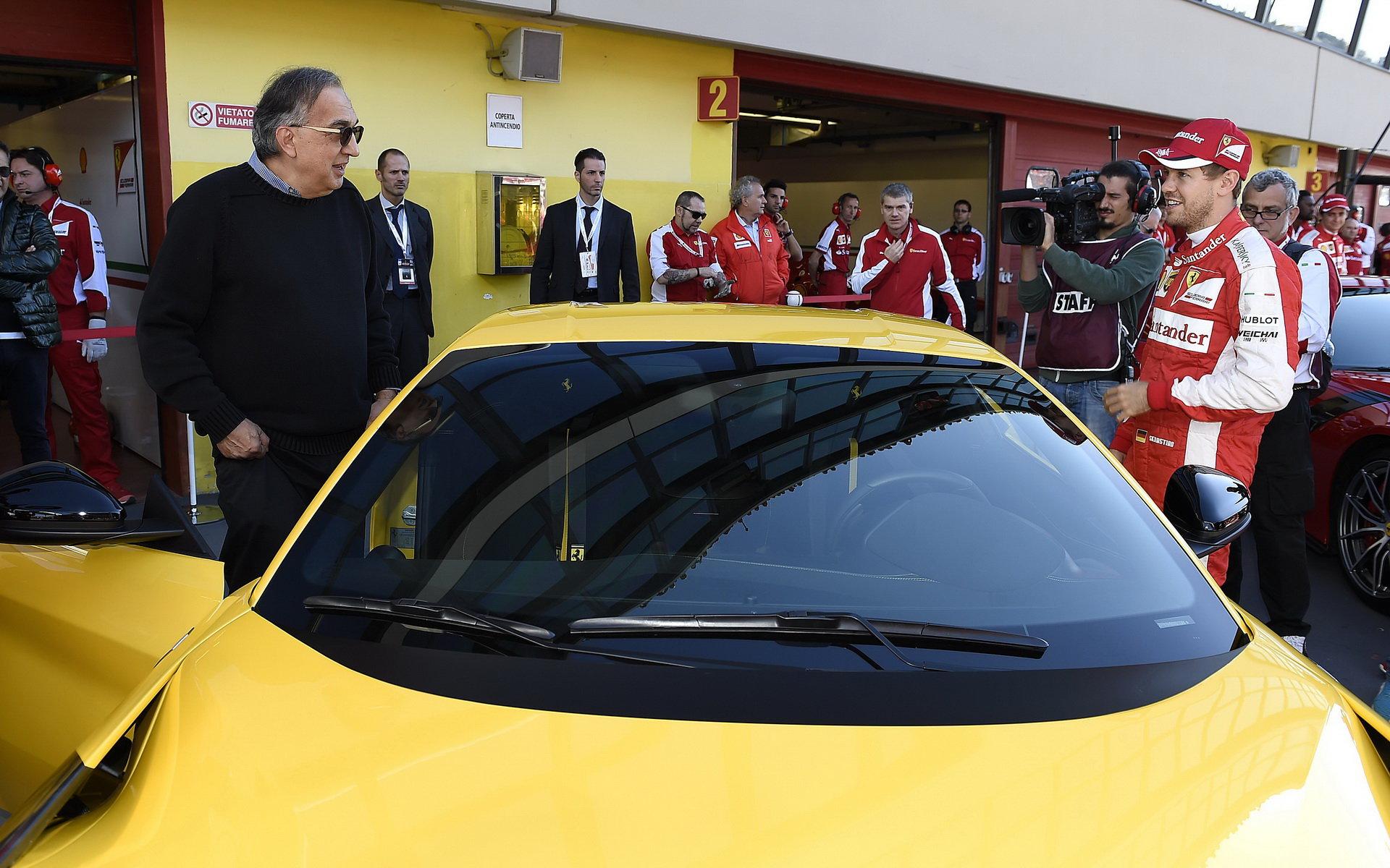 Marchionne se stává novým výkonným ředitelem Ferrari - anotační foto