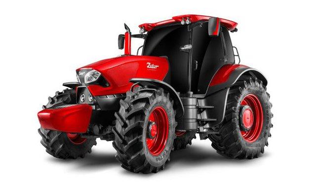 Italské studio navrhlo český traktor, Zetor by Pininfarina.