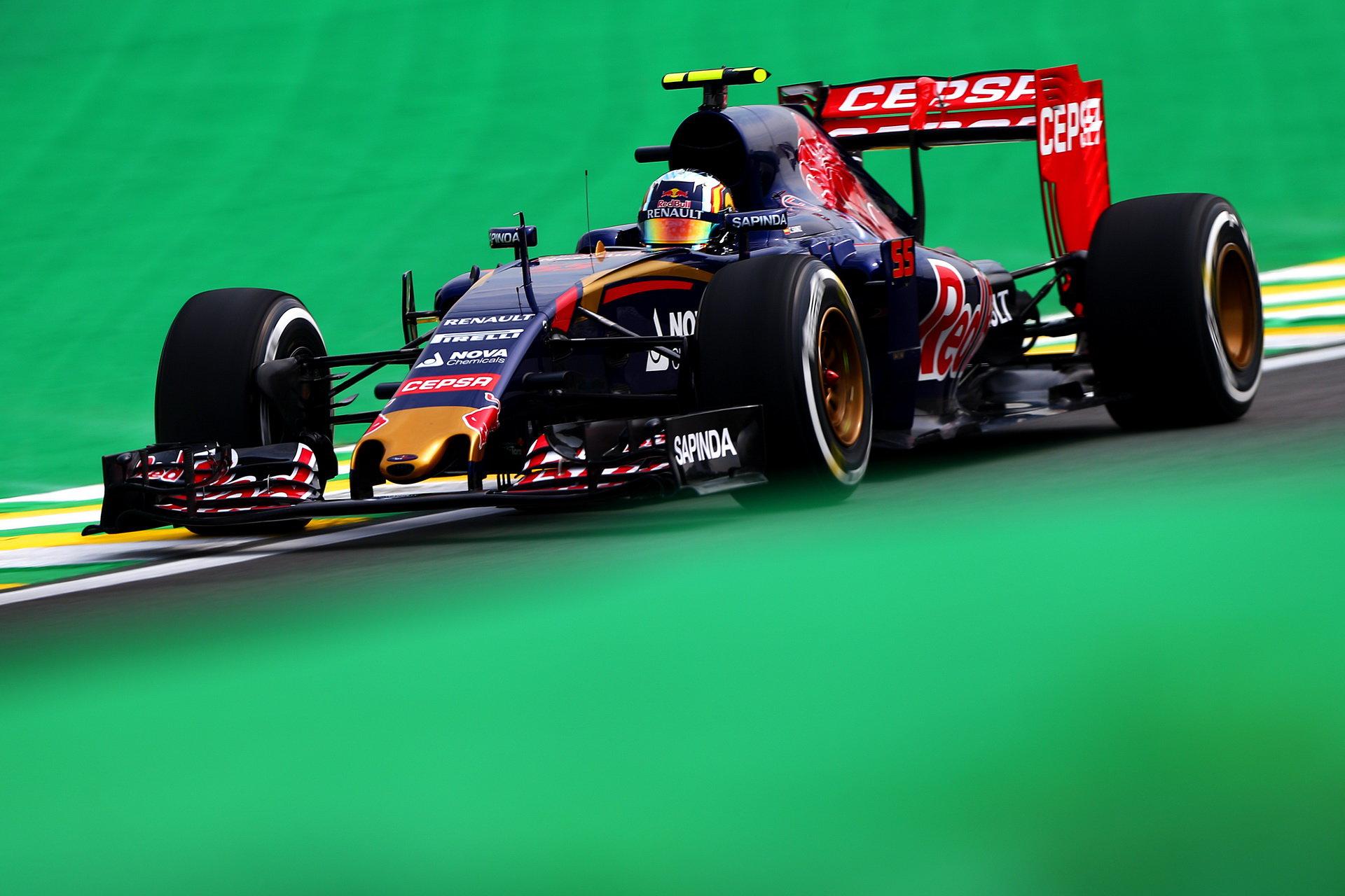 Key o aerodynamice vozu Toro Rosso a jezdcích. Je lepší Verstappen či Sainz? - anotační foto
