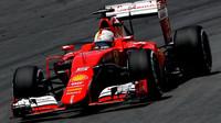 Sebastian Vettel v Brazílii