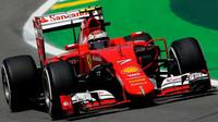 Kimi Räikkönen v Brazílii