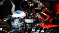 Fernando Alonso v Brazílii