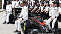 Jenson Button, Fernando Alonso v Brazílii