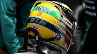Lewis Hamilton v Brazílii