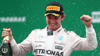 Nico Rosberg vyhrál poslední dva ročníky GP Brazílie