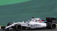 Felipe Massa v Brazílii