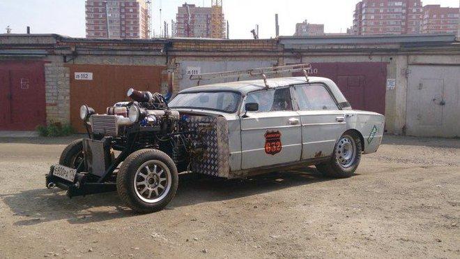 Dost možná nejšílenější Lada v Rusku, Lada 2106 rat rod.