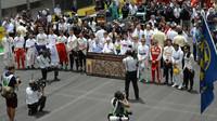 Minuta ticha obětem teroristického útoku v Paříži před závodem v Brazílii