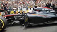 Jenson Button v Brazílii