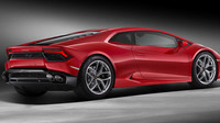 Vzadu najdeme přepracovaný difuzor i kapotu motoru, Lamborghini Huracán LP 580-2.