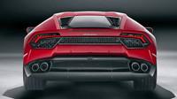 V zadní části mimo jiné chybí vysouvací spoiler, Lamborghini Huracán LP 580-2.