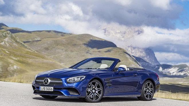 Nová generace Mercedesu SL dostane jedno velké omezení - anotačné foto