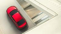 Červená metalíza Ruby vozu moc sluší, Subaru Impreza Sedan Concept.