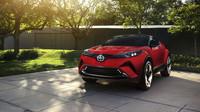 Toyota bude nabízet C-HR i v USA, avšak s logem Scion, Scion C-HR