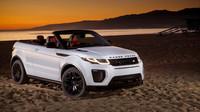 Základní cena je skoro 1,5 milionu korun, Range Rover Evoque Cabriolet.