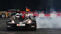 FOTO: Závod šampionů 2015 - vítězství Vettela, loučení Wolffové
