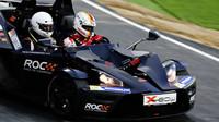Sebastian Vettel při Race of champions